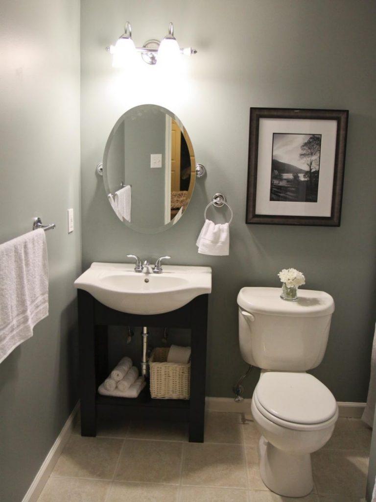 ديكور حمامات صغيرة اجمل ديكورات المساحات الضيقة الاصدقاء