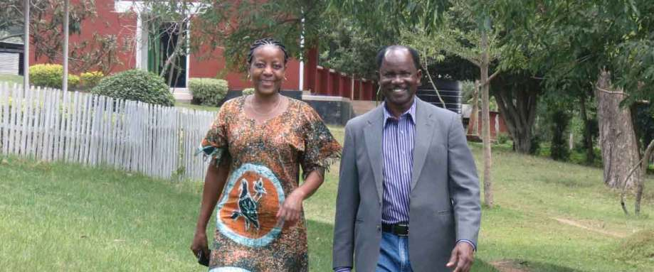 Robert and Nancy Wafula