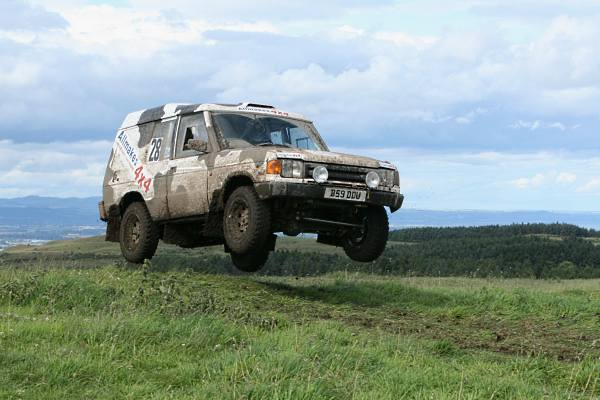 Friesian Racing are 'over the moon' with their result on the Scottish Perthshire Hillrally - Photo: M&JBrinkman