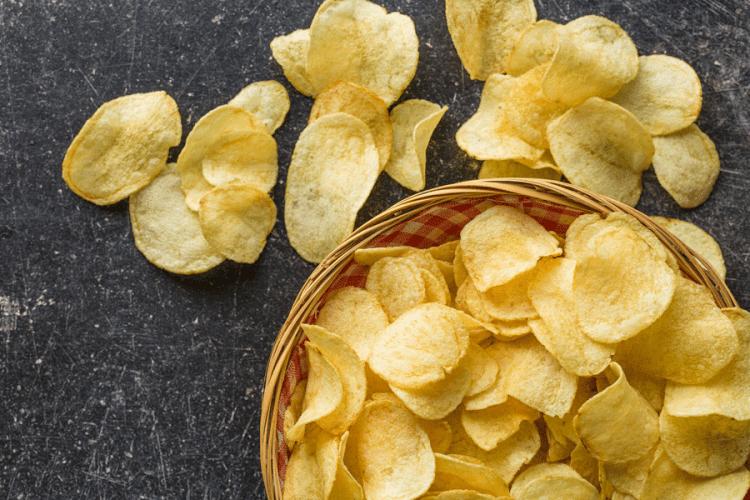Snacks salgados pra comer vendo filme.