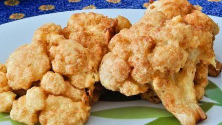 frango frito de couve flor