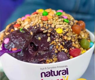 natural berry açaí e sorvetes