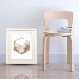Hex Cube Print
