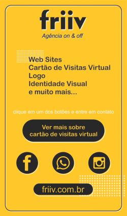 cartões de visitas virtuais
