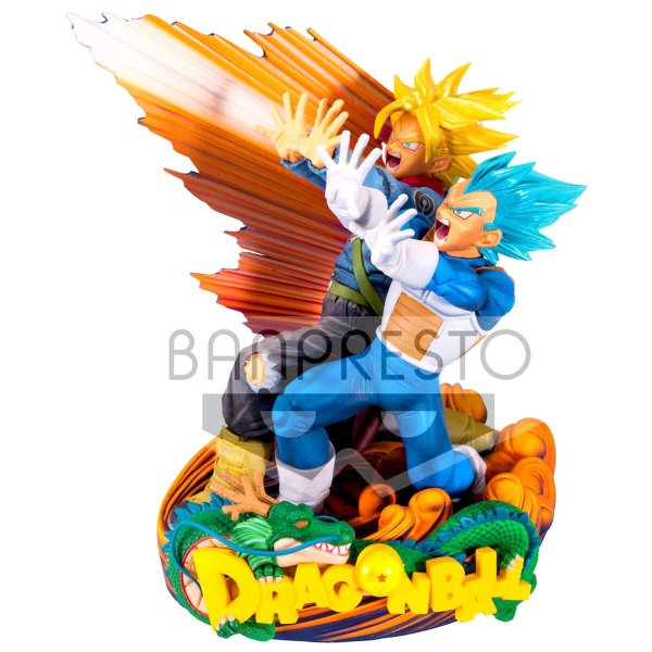 Super Master Diorama Vegeta & Trunks Dragon Ball Super 20cm