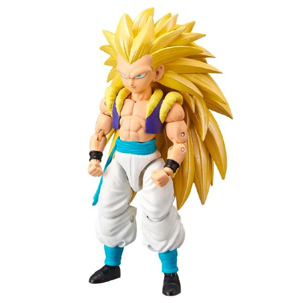 Figura deluxe Super Saiyan 3 Gotenks Dragon Ball Super