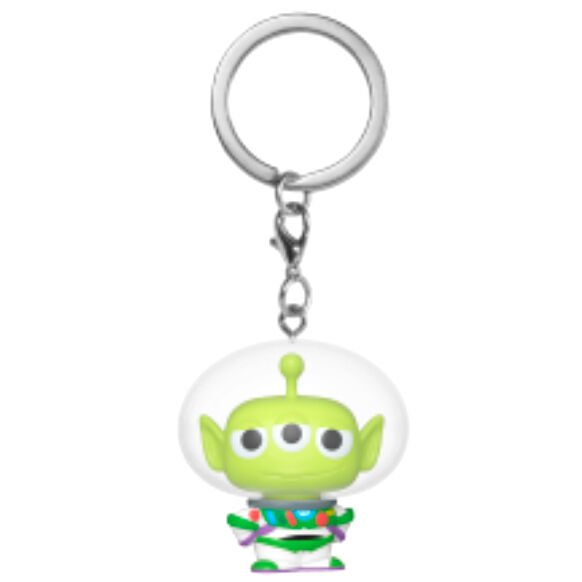 Llavero Pocket POP Disney Pixar Alien Remix Buzz