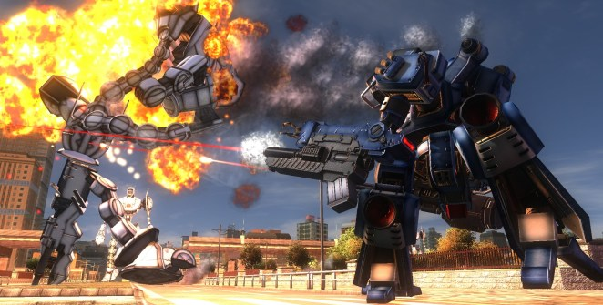 Chequea el nuevo Gameplay de Earth Defense Force 5-frikigamers.com