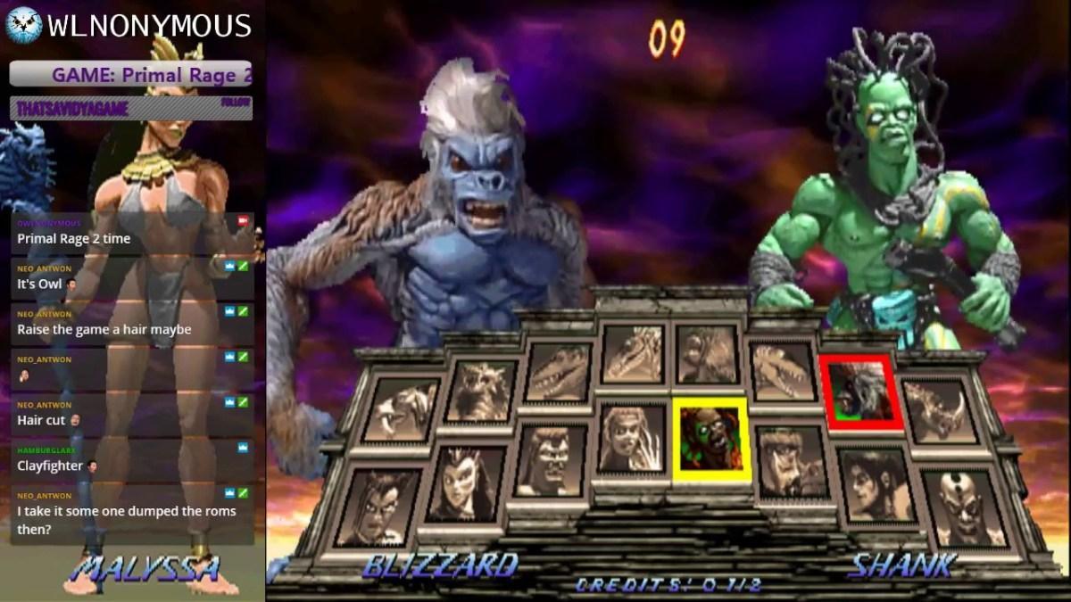 Ya puedes jugar el cancelado Primal Rage II