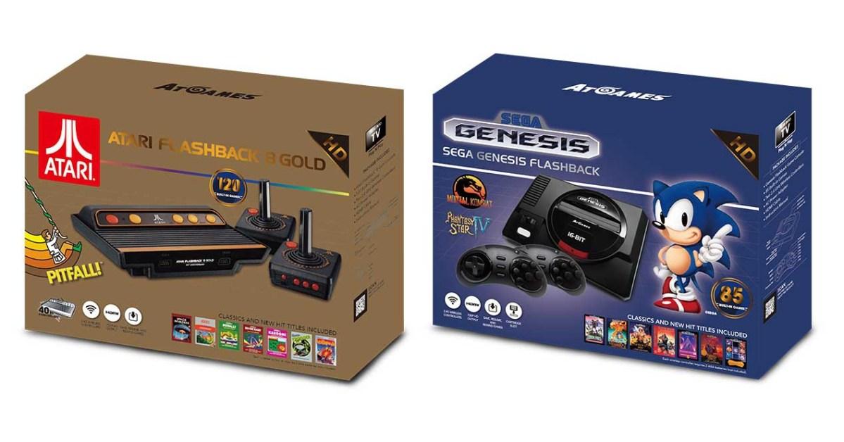 Las nuevas consolas retro de SEGA y Atari saldrán en septiembre