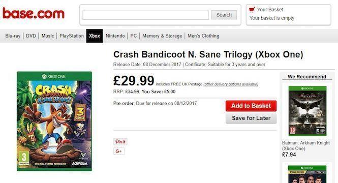 nuevos-indicios-de-crash-bandicoot-n-sane-trilogy-en-xbox-one-frikigamers.com