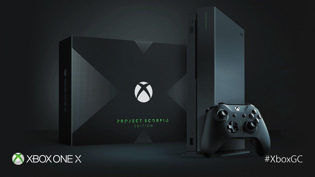Ya puedes preordenar el Xbox One X Project Scorpio Edition