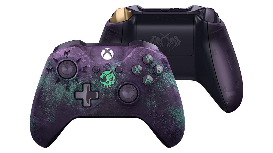 Chequea el mando personalizado de Sea of Thieves de Xbox One