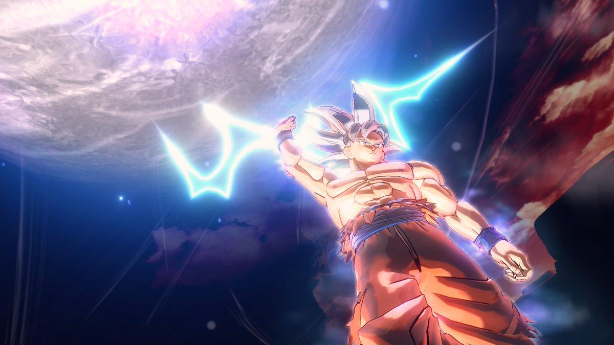 Chequea las primeras imágenes de Goku Ultra Instinct en Dragon Ball Xenoverse 2