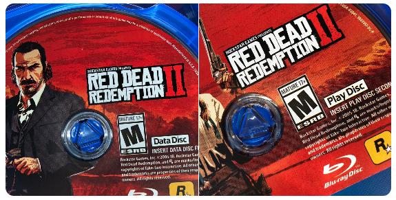 Primer vistazo a los discos dobles de Red Dead Redemption 2