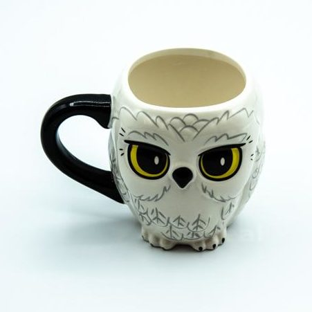 Taza 3D Hedwig