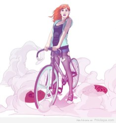 Pin-Ups-and-Bicycles-illustrations-by-Halfanese-5