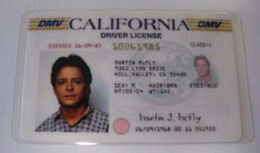 Carnet Marty Mcfly