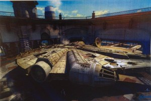 Millennium Falcon - Hangar Greenwood