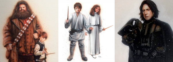 harry potter y star wars_A