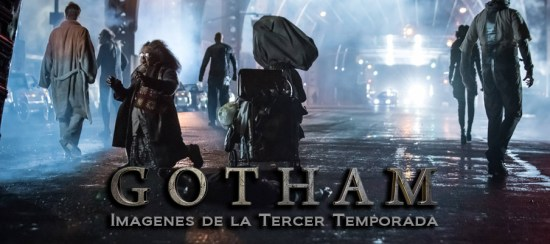 Gotham Tercera NEWS header