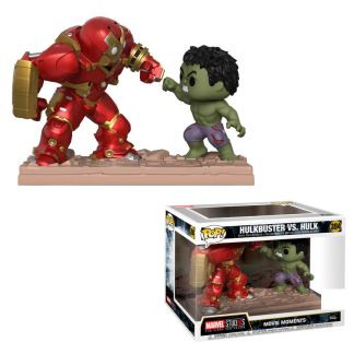 Figura POP Marvel Avengers Hulk Buster vs Hulk Exclusive