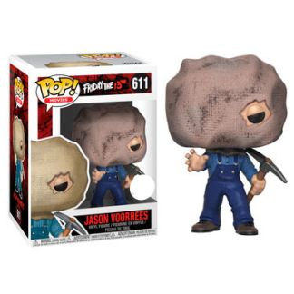 Figura POP Friday the 13th Jason with Bag Mask Exclusive
