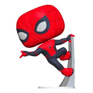 Figura POP Marvel Spiderman Far From Home Spiderman Upgraded Suit