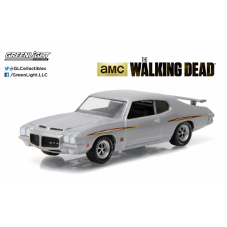 "Pontiac GTO ""The Walking Dead"" (1971) Greenlight 1/64"