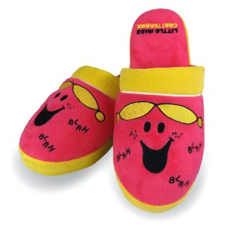 Pantuflas Chatterbox Mr Men Little Miss mujer