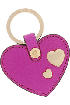 Mulberry Leather heart key fob - £70 available at Net-a-Porter