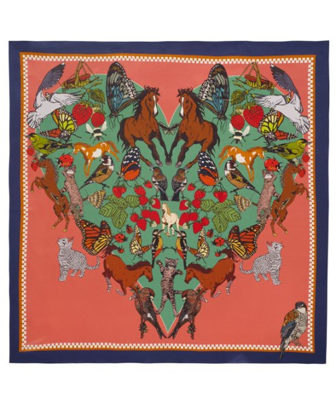 Silken Favours I love everything silk scarf - £135 available at Liberty of London