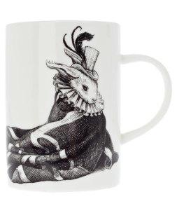 Liberty Rory Dobner Wrapped Rabbit Bone China mug - £15.50