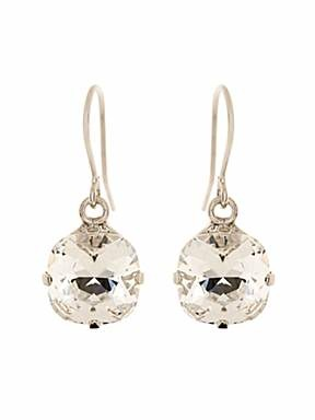 Martine Wester Cushion cut drop earrings - £18