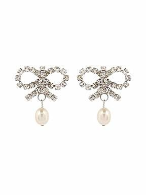 Martine Wester Pretty Bow Pearl earrings
