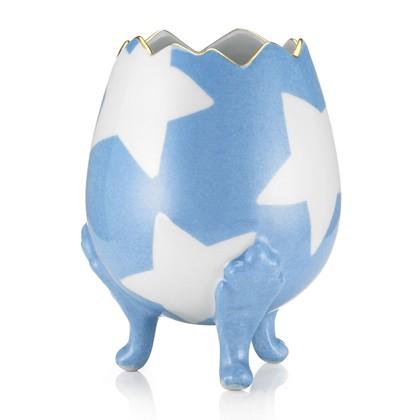 Marie Daage Brocken egg in blue