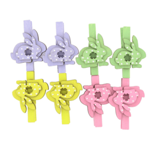 Paperchase Bunny pegs - £4.75