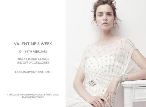 Jenny Packham Valentine's offer