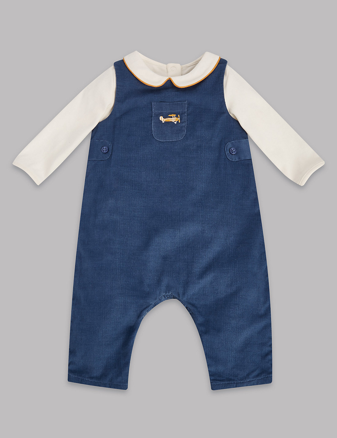 M&S Cord Dungarees