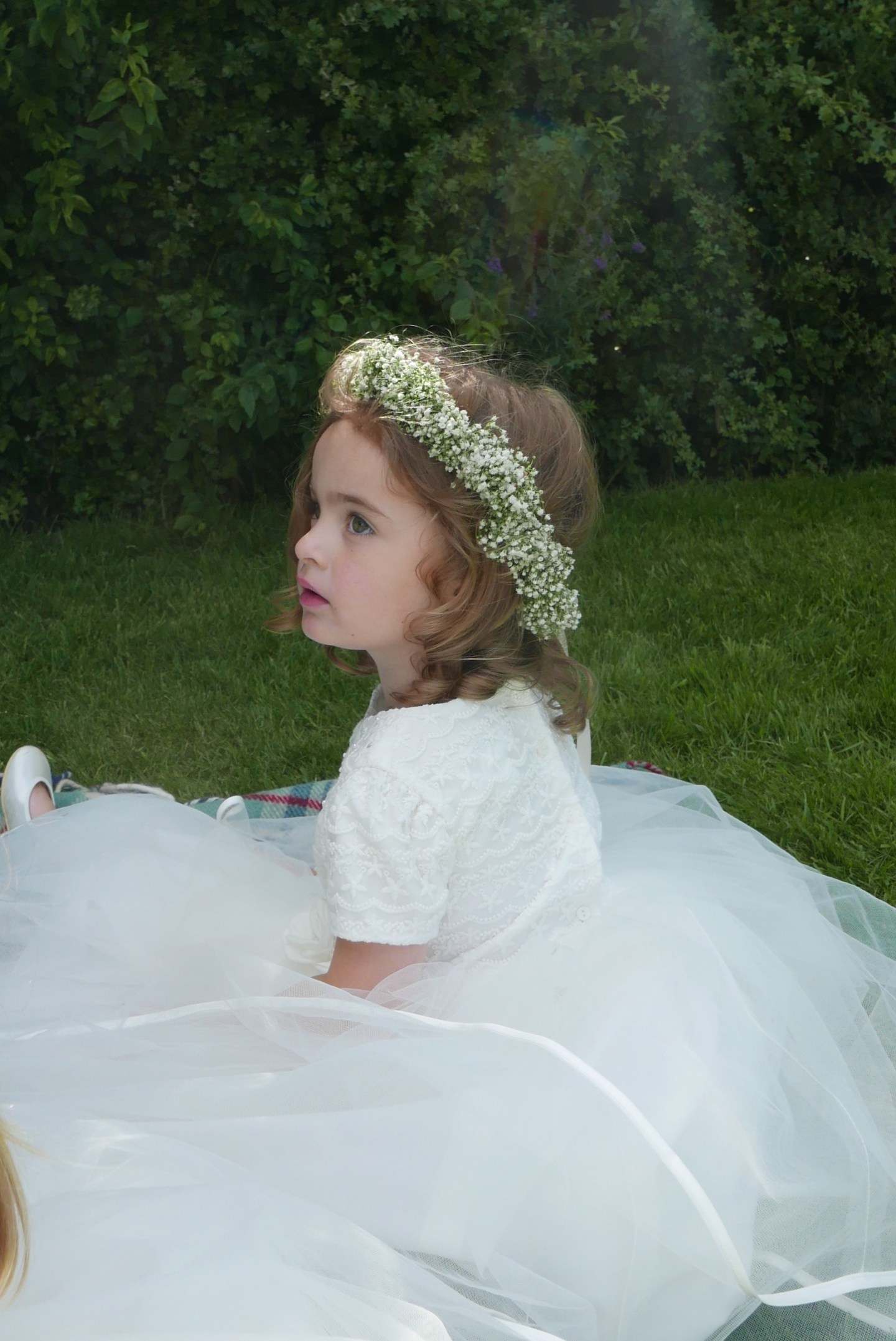119f7626a Flower girl dresses – The reveal. What Poppy actually wore for the ...