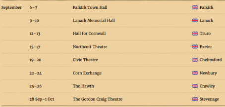 Gruffalo live on stage dates 2