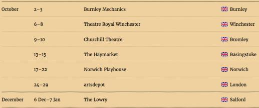 Gruffalo live on stage dates 3