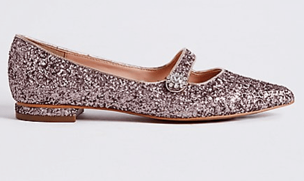 Marks and Spencers sparkly shoes 2
