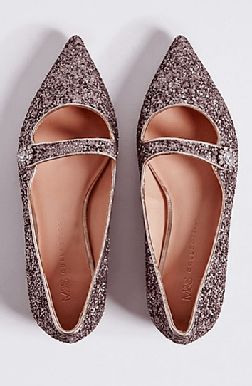 Marks and Spencers sparkly shoes