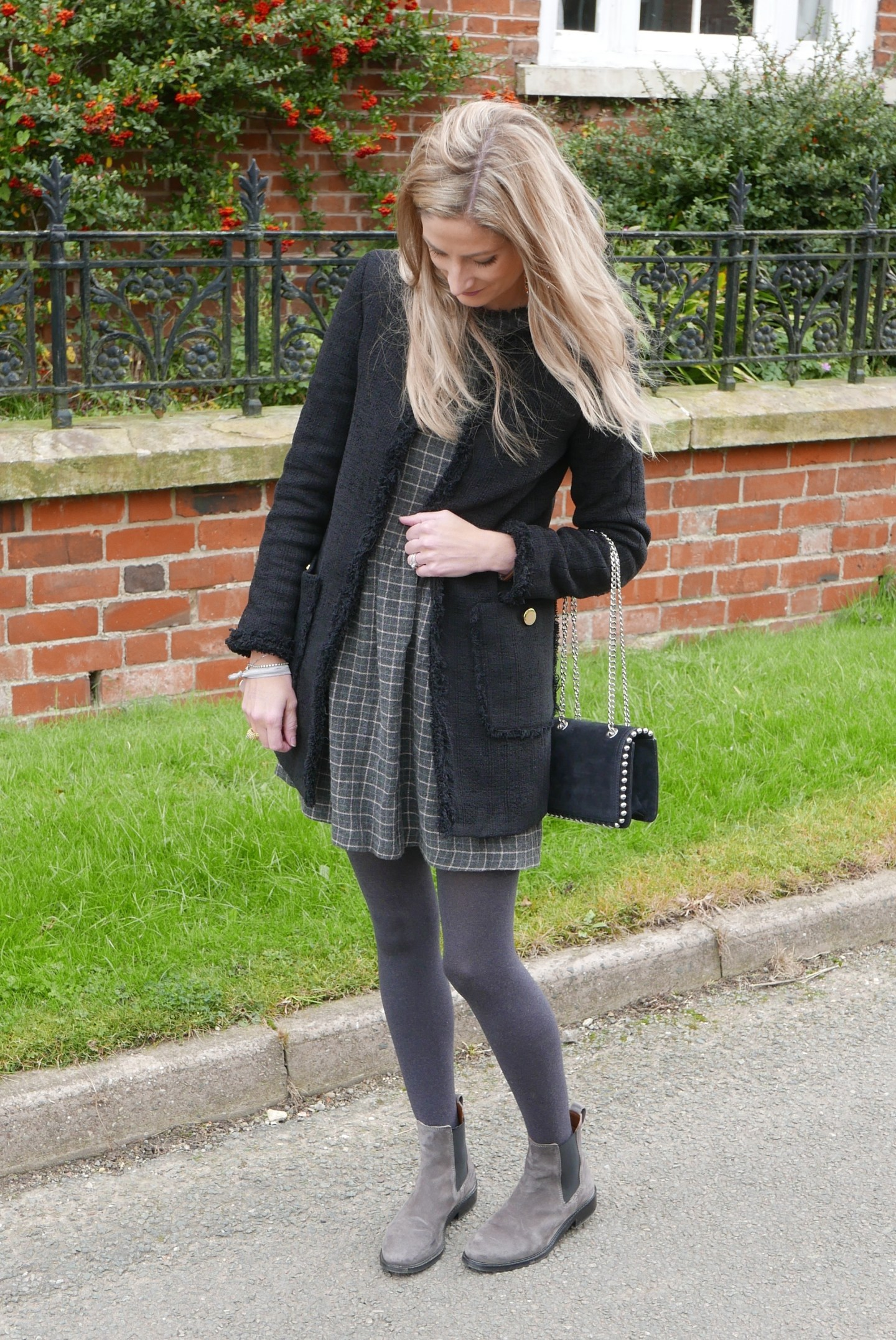 Autumnal outfit details