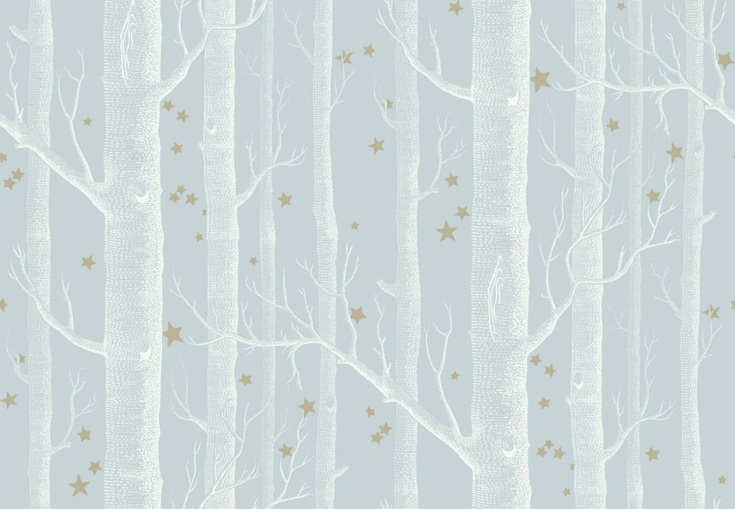 Cole and Son star wood wallpaper