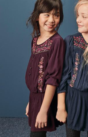 Next berry emroidered playsuit