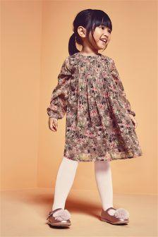 Next mink floral dress