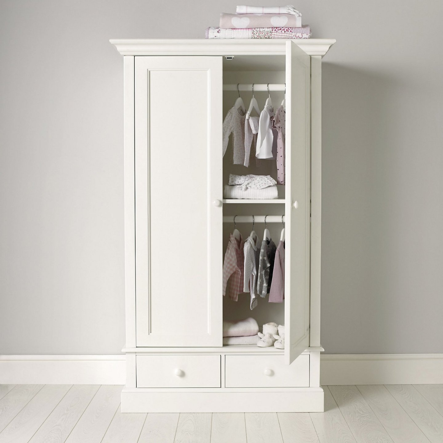 White Company childrens wardrobe