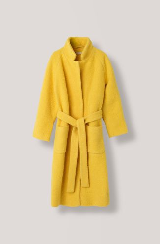 Ganni yellow coat